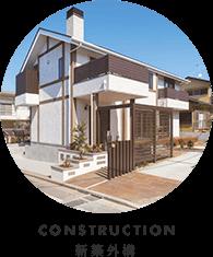 CONSTRUCTION新築外構