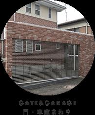 GATE&GARAGE門・車庫まわり